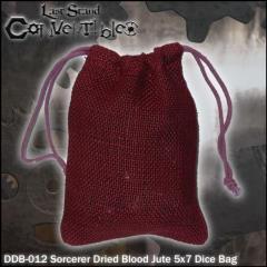 """Sorcerer Dried Blood Jute (5"""" x 7"""")"""
