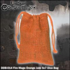 "Fire Mage Orange Jute (5"" x 7"")"