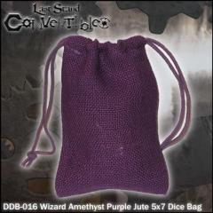 """Wizard Amethyst Purple Jute (5"""" x 7"""")"""
