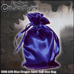 "Blue Dragon Satin (5"" x 8"")"
