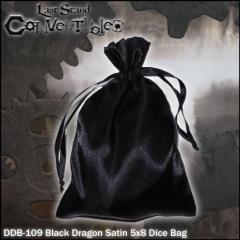 "Black Dragon Satin (5"" x 8"")"