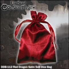 "Red Dragon Satin (5"" x 8"")"