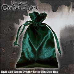 "Green Dragon Satin (5"" x 8"")"