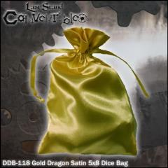 "Gold Dragon Satin (5"" x 8"")"