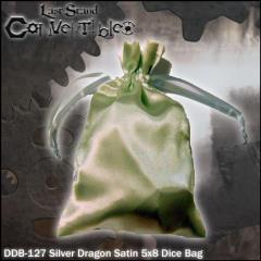 "Silver Dragon Satin (5"" x 8"")"