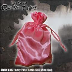 "Faery Pink Dragon Satin (5"" x 8"")"