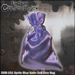 """Sprite Blue Satin (5"""" x 8"""")"""
