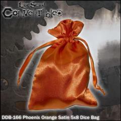"Phoenix Orange Satin (5"" x 8"")"