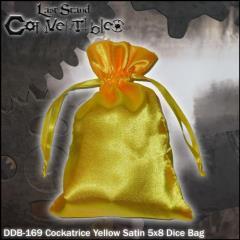 "Cockatrice Yellow Satin (5"" x 8"")"