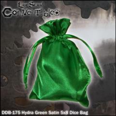 "Hydra Green Satin (5"" x 8"")"