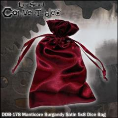 "Manticore Burgandy Satin (5"" x 8"")"