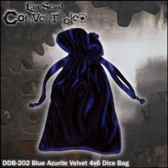 """Blue Azurite Velvet (4"""" x 6"""")"""