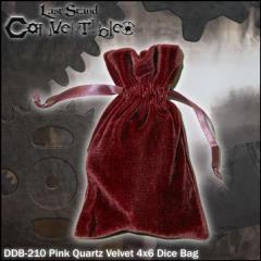 """Pink Quartz Velvet (4"""" x 6"""")"""