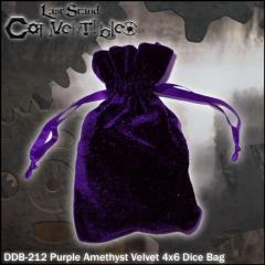 """Purple Amethyst Velvet (4"""" x 6"""")"""
