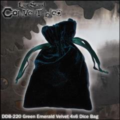 """Green Emerald Velvet (4"""" x 6"""")"""