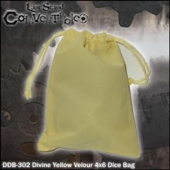 "Divine Yellow Velour (4"" x 6"")"