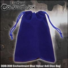 "Enchantment Blue Velour (4"" x 6"")"