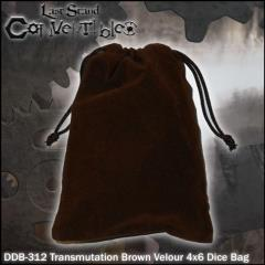 "Transmutation Brown Velour (4"" x 6"")"