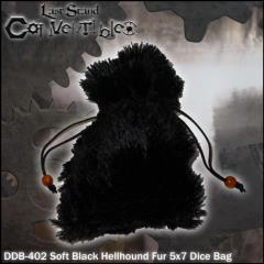 "Soft Black Hellbound Fur (5"" x 7"")"