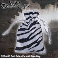 "Soft Zebra Fur (4"" x 6"")"