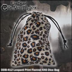 """Leopard Print Flannel (4"""" x 6"""")"""