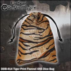"""Tiger Print Flannel (4"""" x 6"""")"""