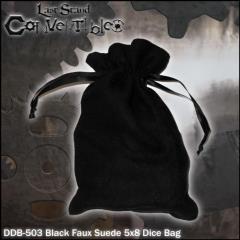 """Black Faux Suede (5"""" x 8"""")"""
