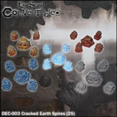 Cracked Earth Spires