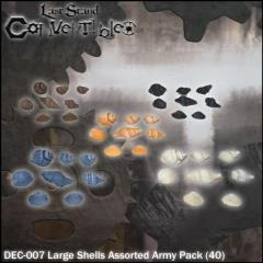 Large Shells Assorted Army Pack