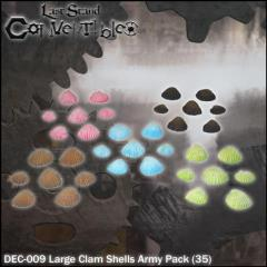 Large Clam Shells Army Pack