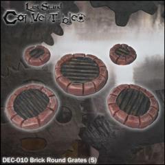 Brick Round Grates