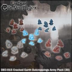 Cracked Earth Outcroppings Army Pack