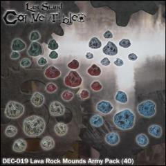 Lava Rock Mounds Army Pack