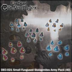 Small Fungused Stalagmites Army Pack
