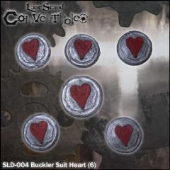 Bucklers - Suit Heart