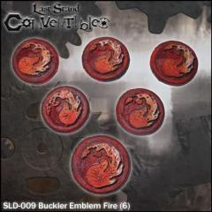 Bucklers - Emblem Fire