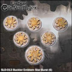 Bucklers - Emblem Star Burst