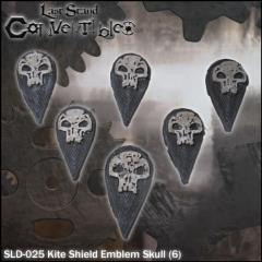 Kite Shields - Emblem Skull