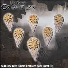 Kite Shields - Emblem Star Burst