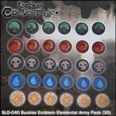 Bucklers - Emblem Elemental Army Pack