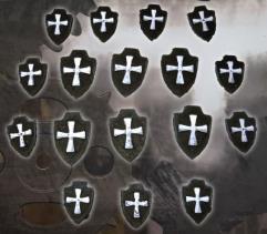 Knight Shields - Dark Templar Cross