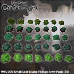 Small Leaf Clump Foliage Army Pack