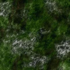 "36"" x 36"" Playmat - Overgrown Hills (Cloth)"
