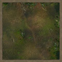 "36"" x 36"" Playmat - Swamp of Malifaux (Cloth)"