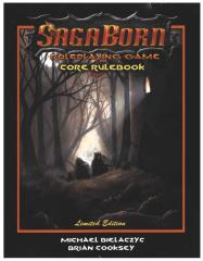 SagaBorn Core Rulebook (Limited Edition)