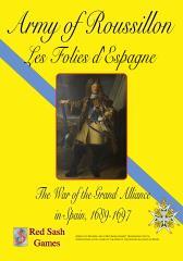 Lace Wars Series #11 - Army of Roussillon, Les Folies d'Espagne