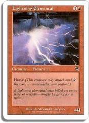 Lightning Elemental (C)