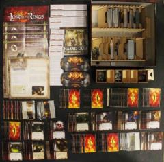 Lord of the Rings Card Game Collection - Base Game + Expansion & 4 Adventures!