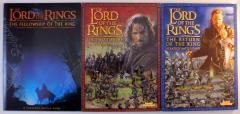 Lord of the Rings Boxed Game Rulebooks Collection - 3 Books!
