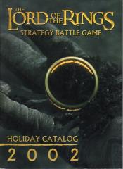 Lord of the Rings 2002 Holiday Catalog